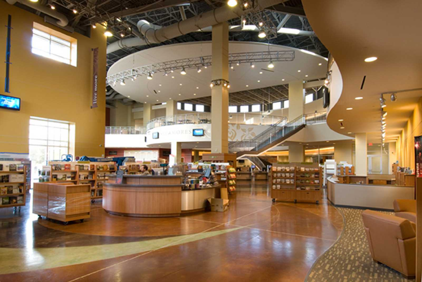 Fellowship Of The Woodlands U2013 Café And Bookstore | Studio RED Architects