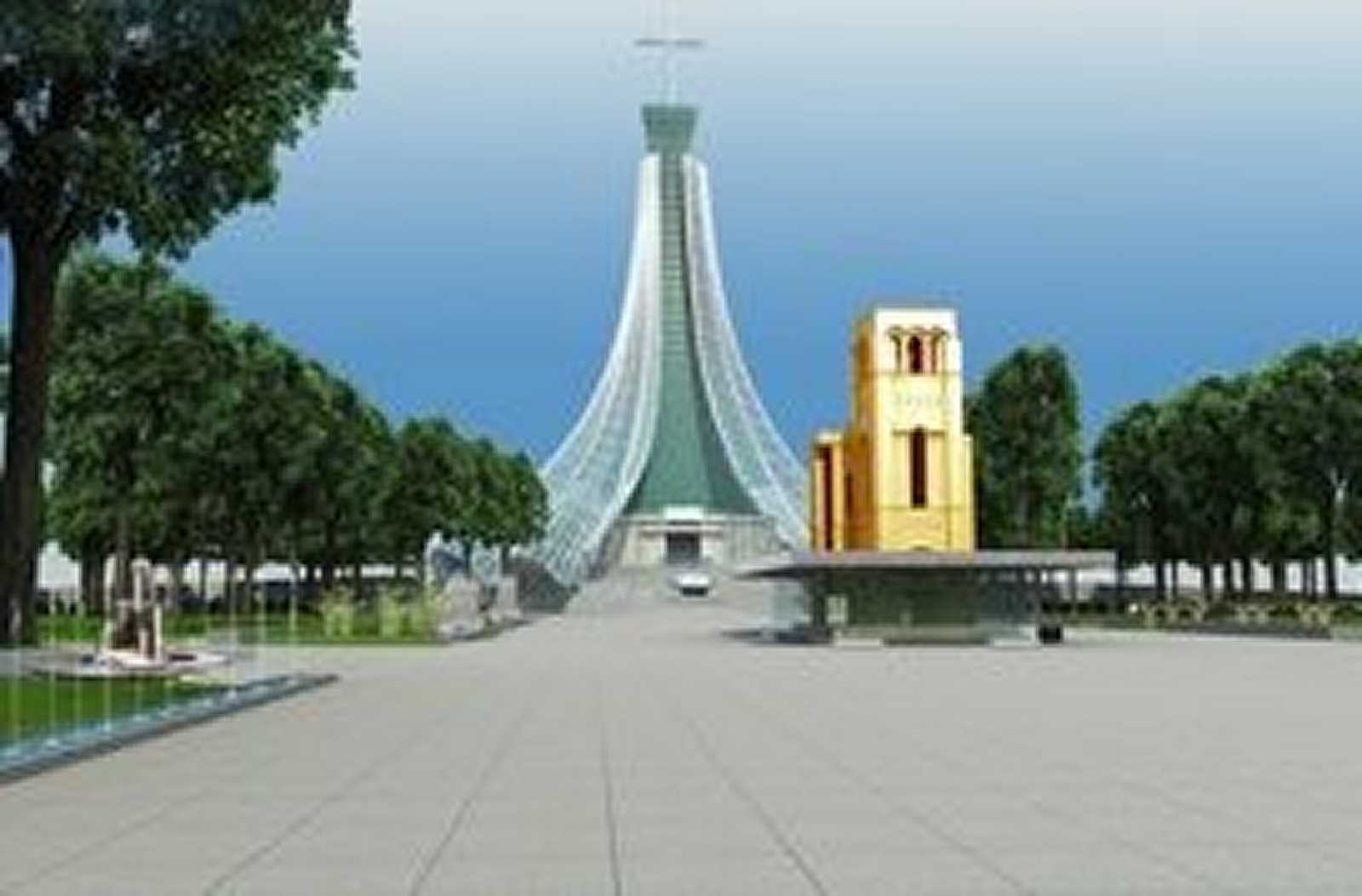 basillica architecture design | our lady of lavang architects