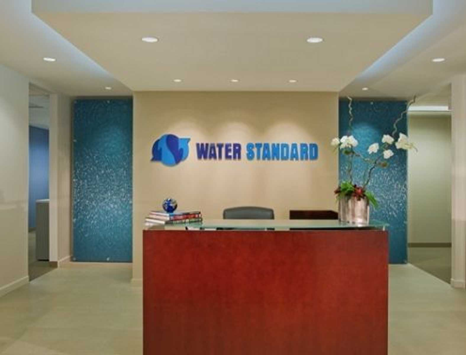 corporate office design firm water standard company