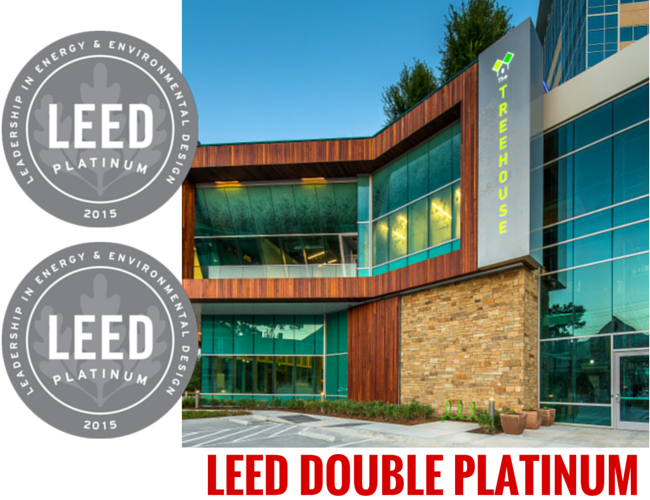 Leed platinum building sustainable design studio red for Leed certified house